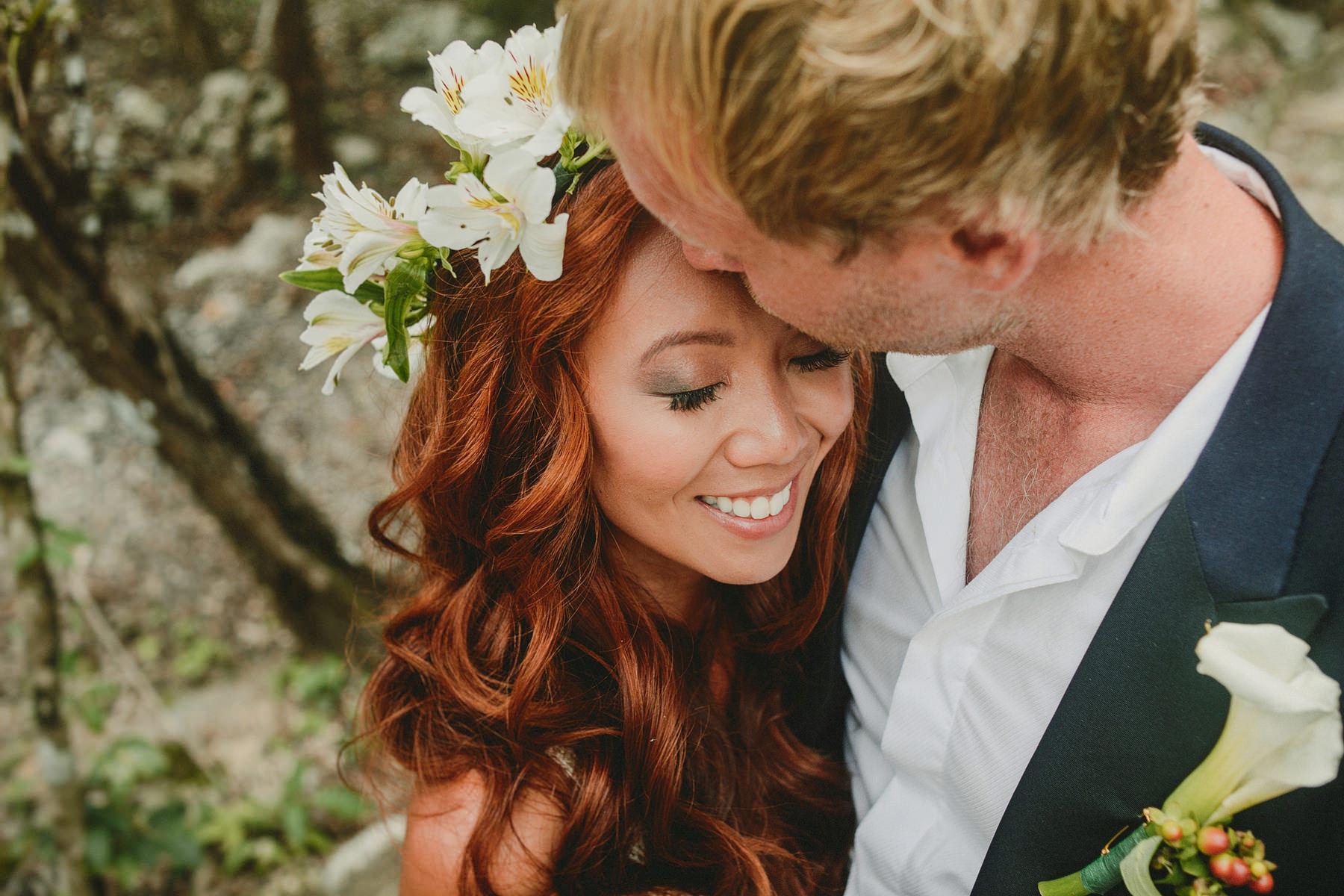 intimate mayan wedding tulum