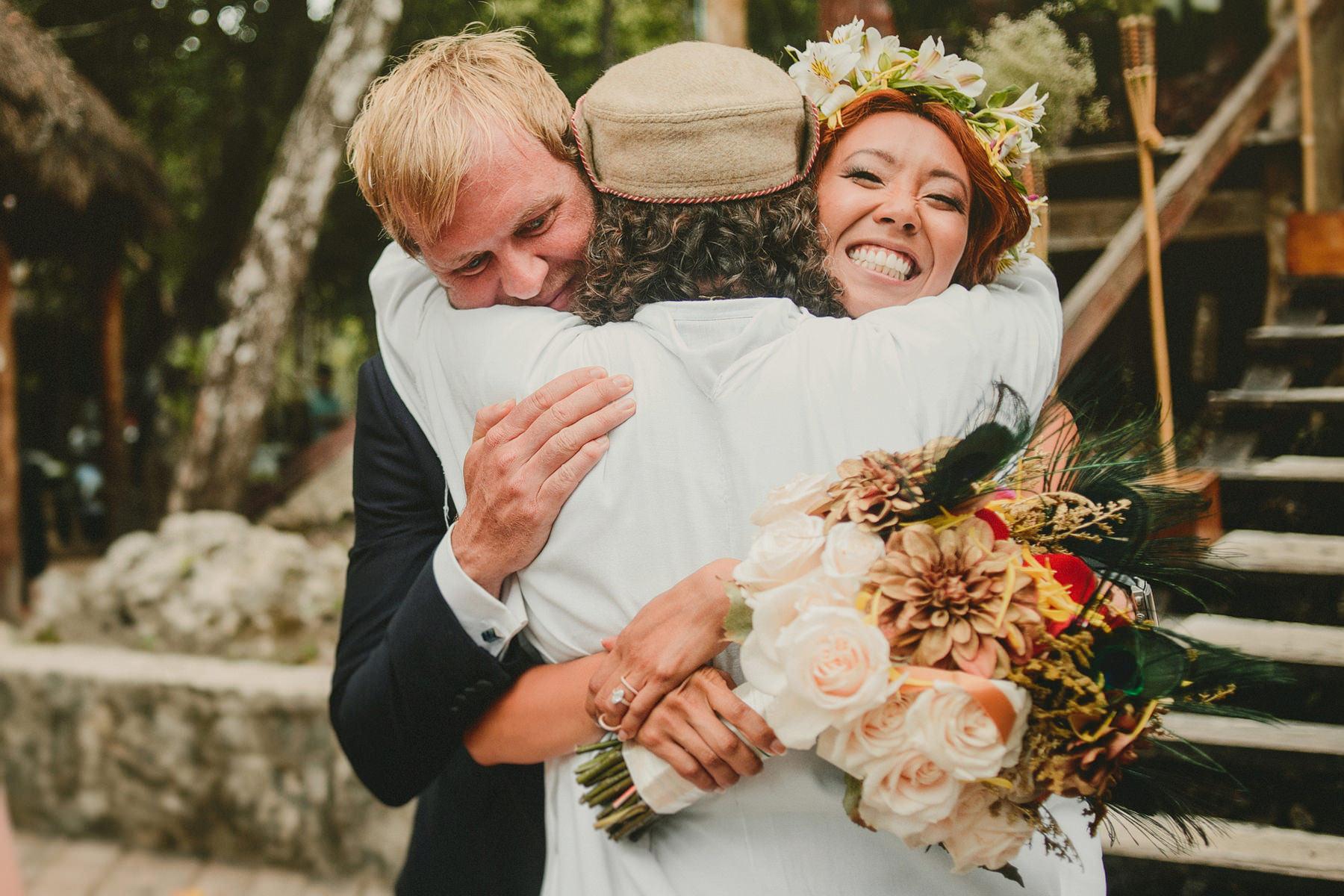 intimate wedding tulum