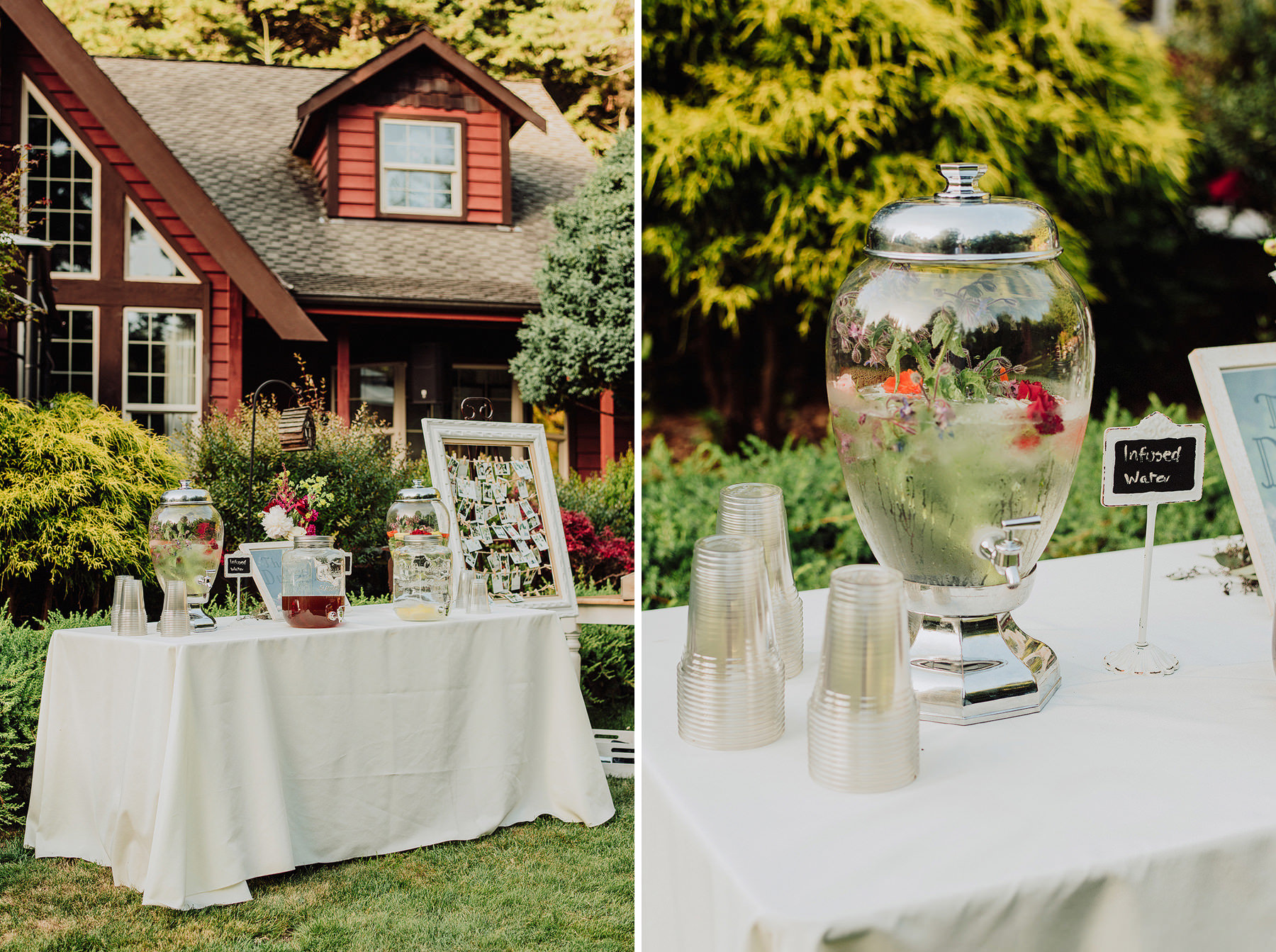 wedding in aldergrove gardens