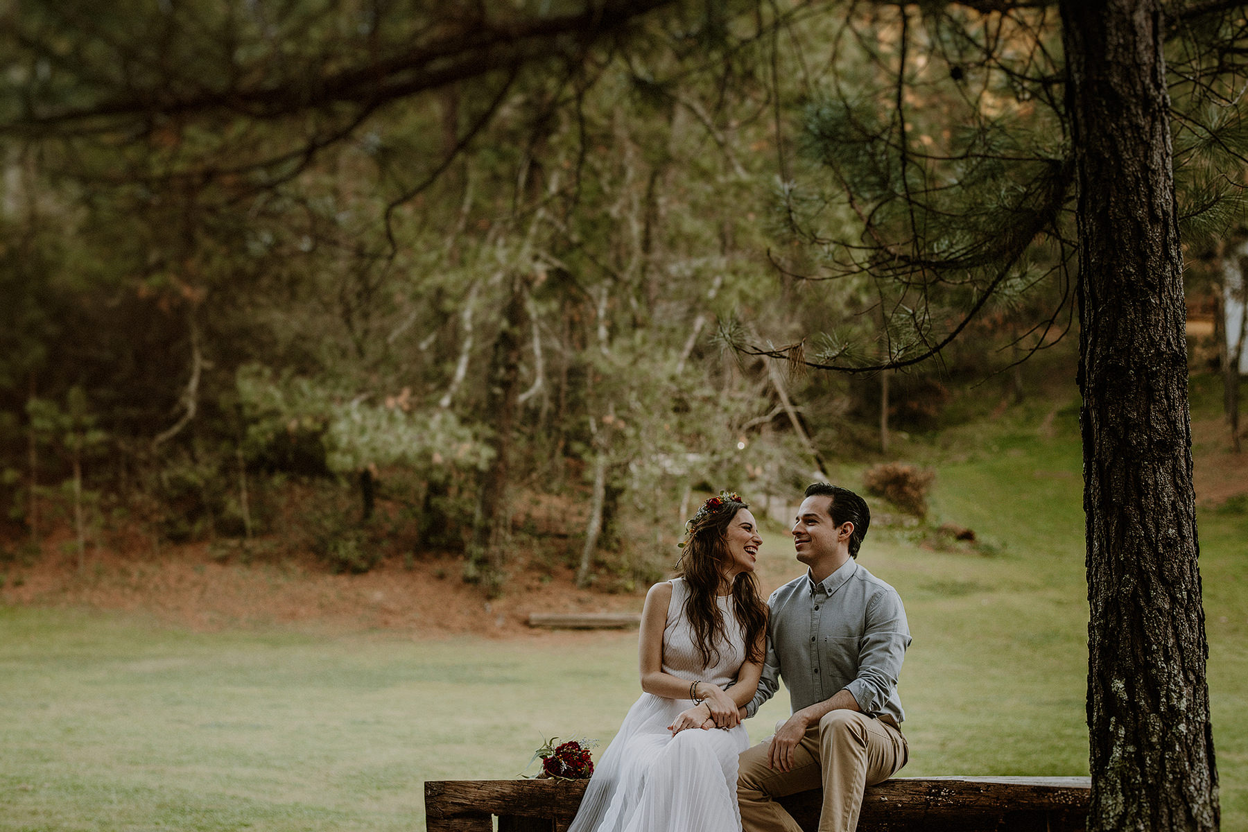 alternative esession in the woods