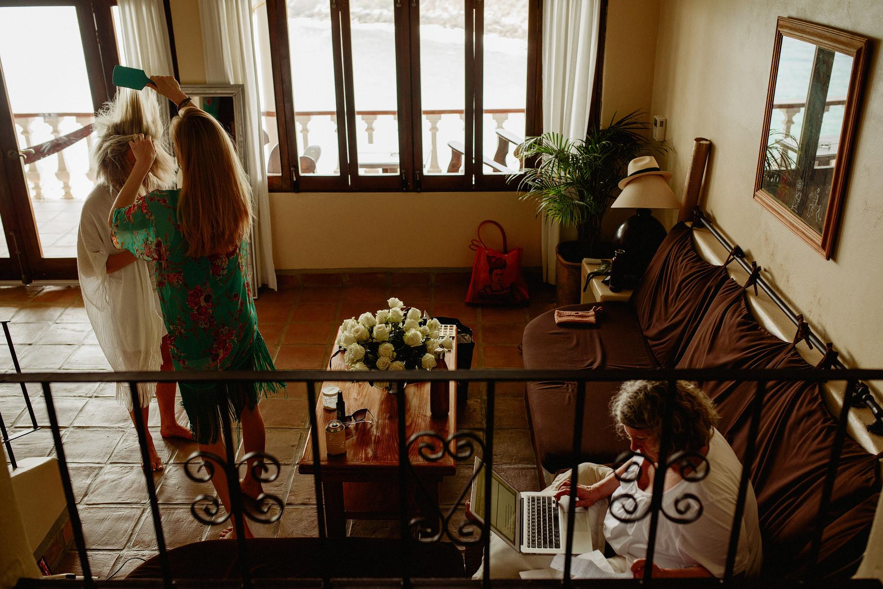 destination wedding in villas carrizalillo puerto escondido