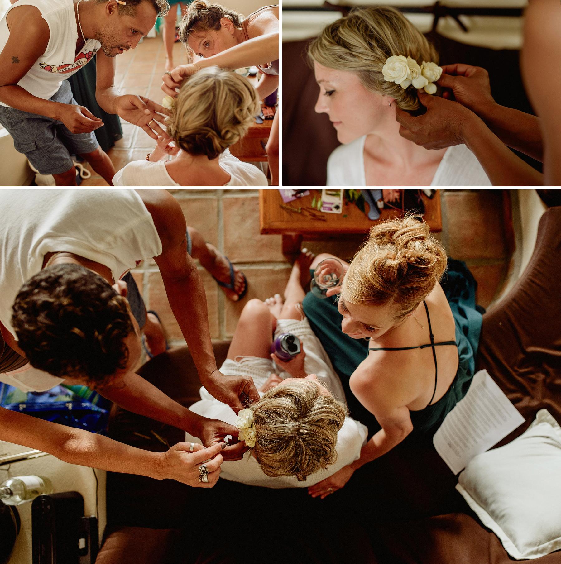 wedding in villas carrizalillo puerto escondido