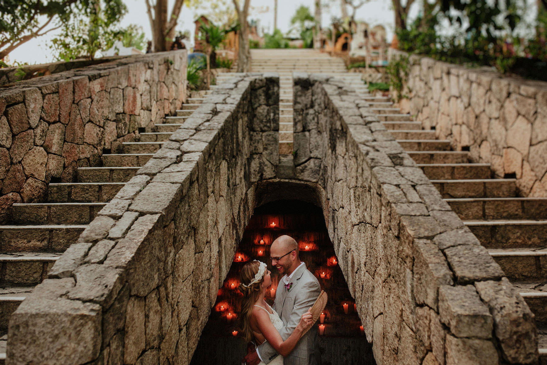destination wedding in xcaret
