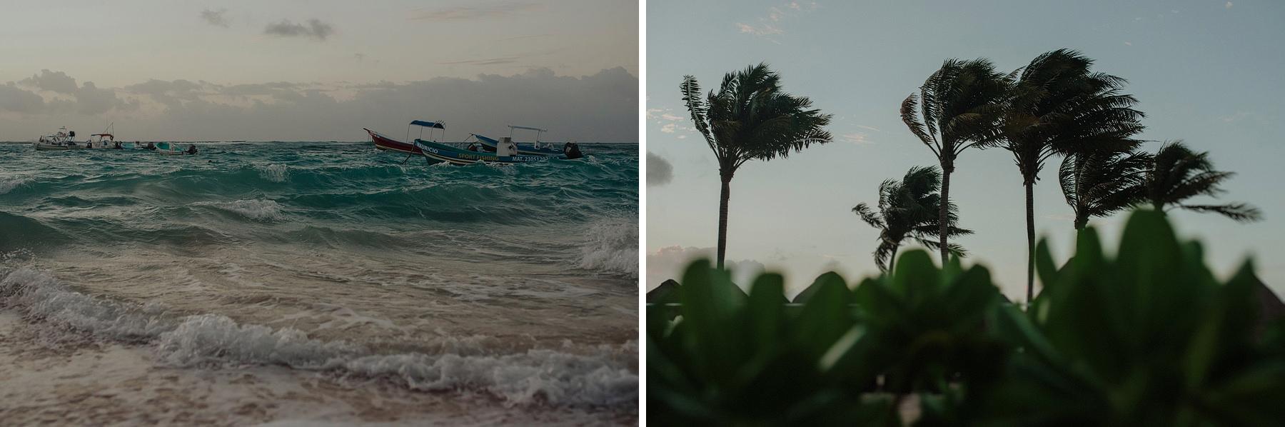 intimate playa del carmen wedding in azul fives