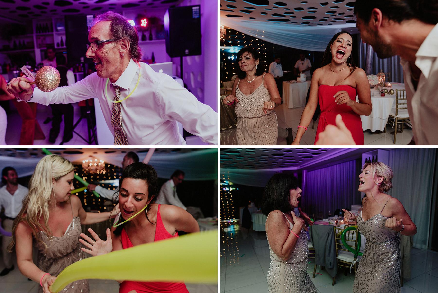riviera maya wedding in azul fives