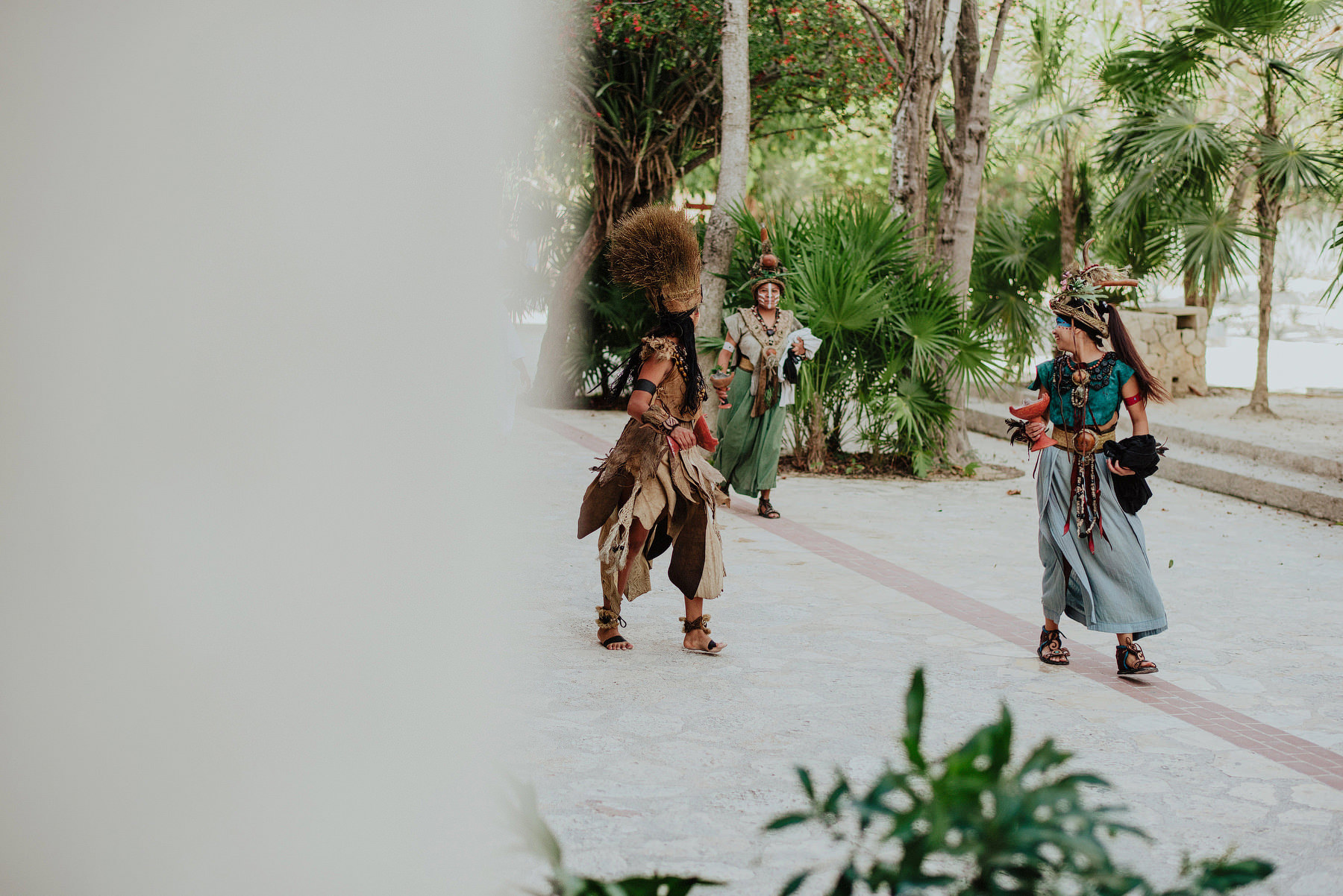 unique destination wedding in xcaret riviera maya
