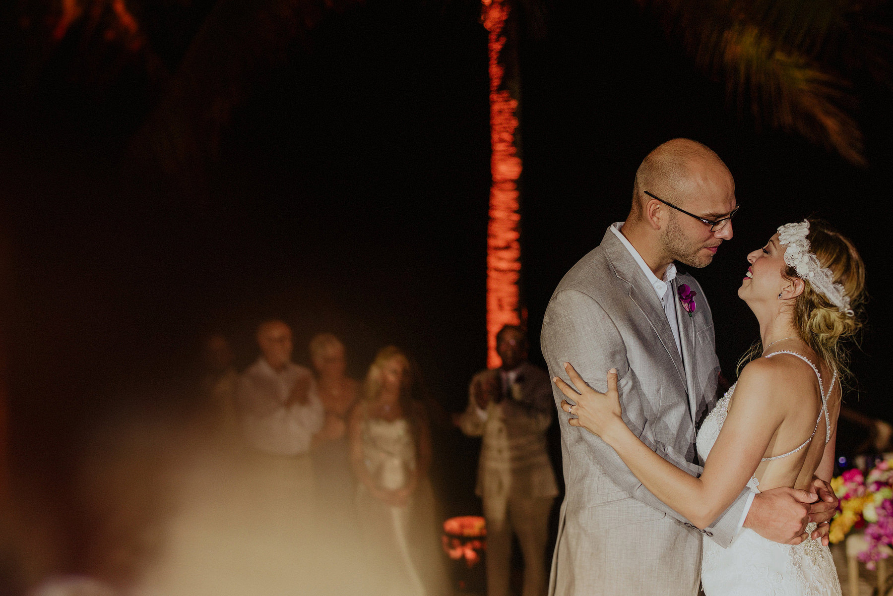unique wedding in xcaret