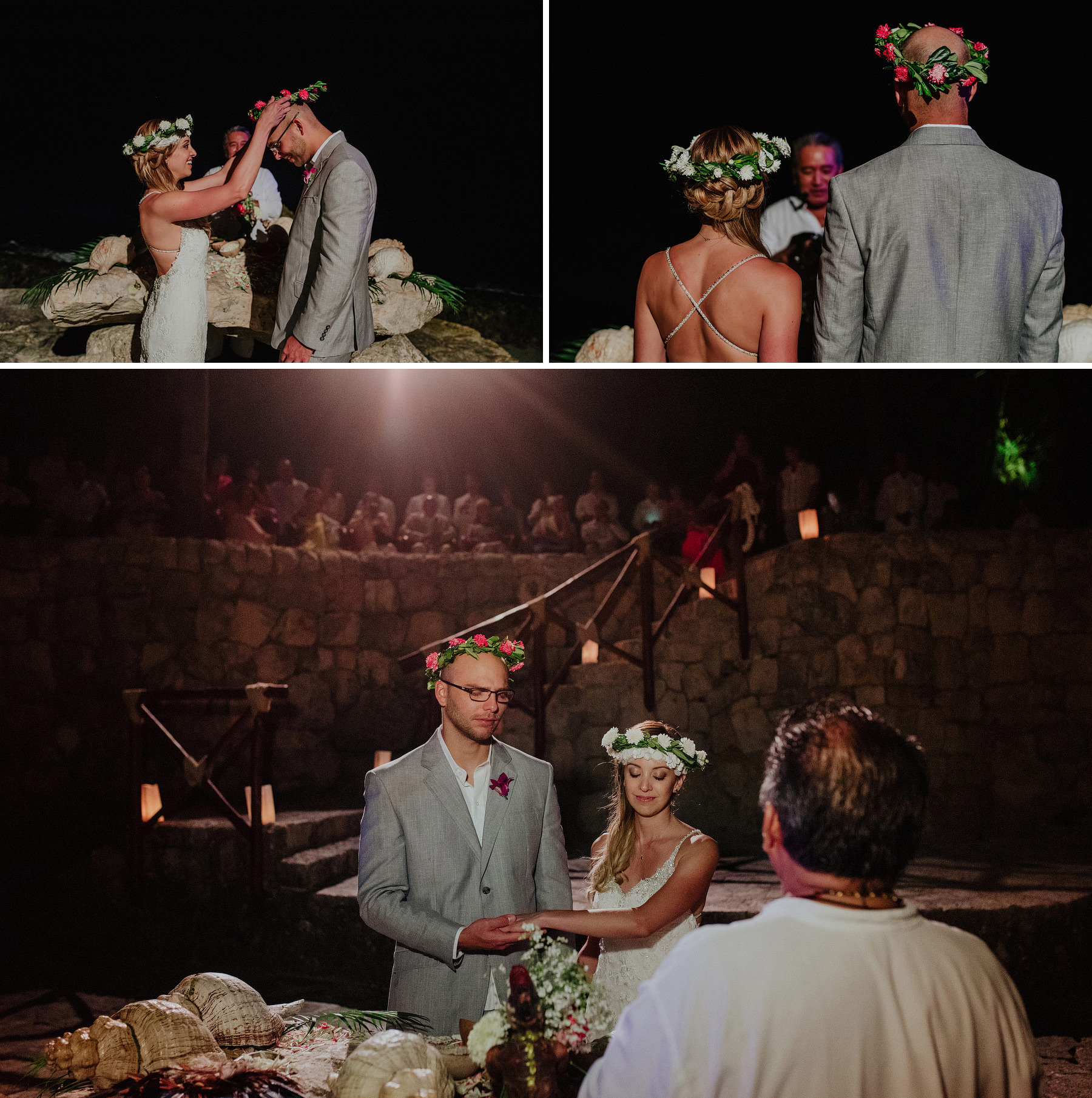 unique wedding in xcaret riviera maya