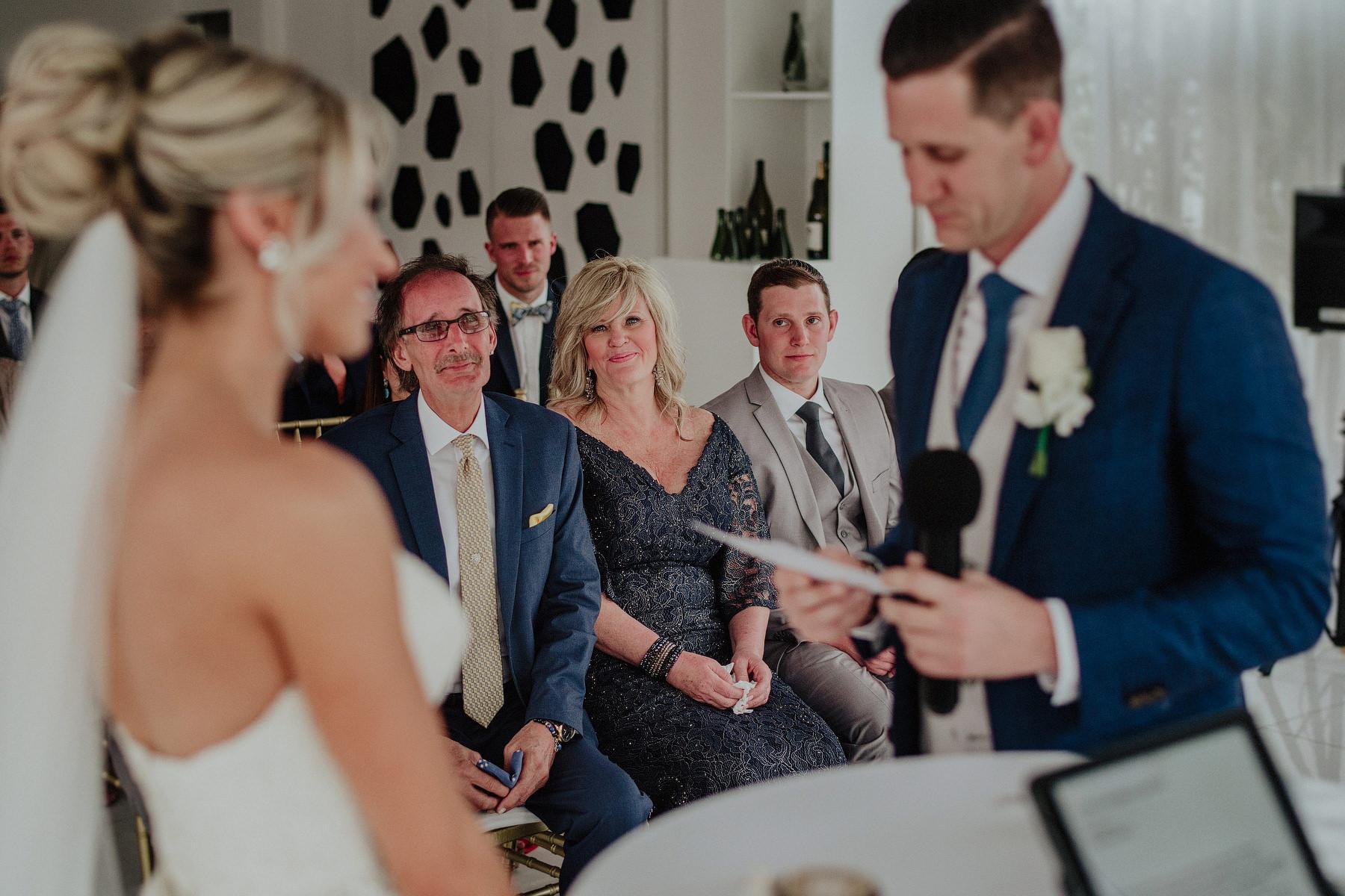 wedding in azul fives
