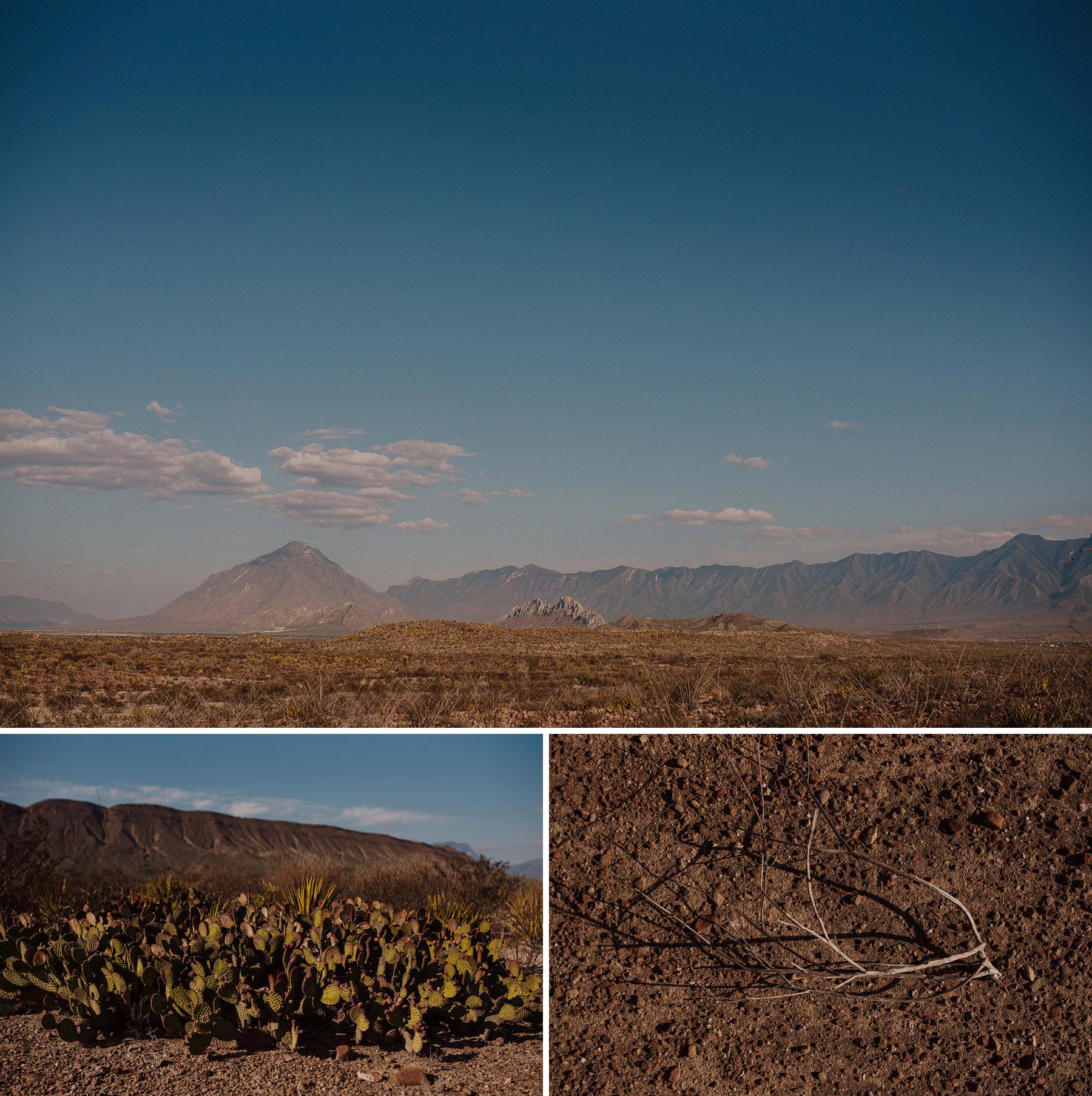 alternative engagement session in the desert